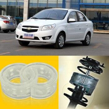2pcs Power Front /Rear Shock Suspension Cushion Buffer Spring Bumper For Chevrolet Lova