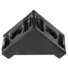 20Pcs 3030 90 Degree Black Aluminum Corner Bracket