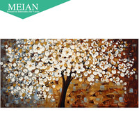 Meian Special Shaped Diamond Embroidery Plant Life 5D Diamond Painting Cross Stitch 3D Diamond Mosaic Decoration