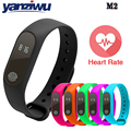 New Waterproof IP67 Bluetooth Smart Band M2 Heart Rate Monitor Message/Call Reminder Wristband for Android iOS PK mi band 2