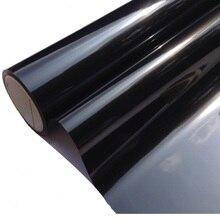 50x300 cm כהה שחור רכב חלון גוון סרט זכוכית VLT 5% 2PLY רכב אוטומטי בית מסחרי דקורטיבי סרט פרטיות חלון גוון