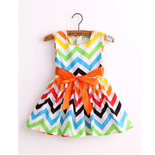 new 2017 brand fashion cotton print  girl  dress baby girls  princess  dresses  kids dress children clothes vestidos infantis