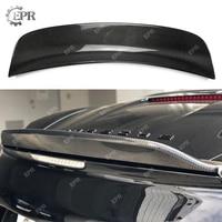 Carbon Wing Lip For Porsche Caymans 987 EP Trunk Ducktail (2006 2012) Carbon Fiber Rear Spoiler (Boxster S Need Cayman Spoiler)