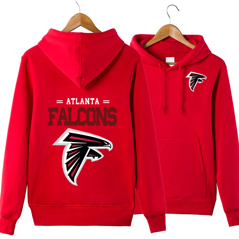 Atlanta Falcons Football Pullover Hooded Sweatshirt