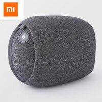 Original Xiaomi Kneading Massage Pillow 3D Massage PYC Hot Pack Wireless Portable Office Relaxation Smart Massager
