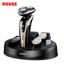 POVOS New 4D Beauty Machine 4 In 1 Electric Shaver Razor Pop up Trimmer Hair Clipper