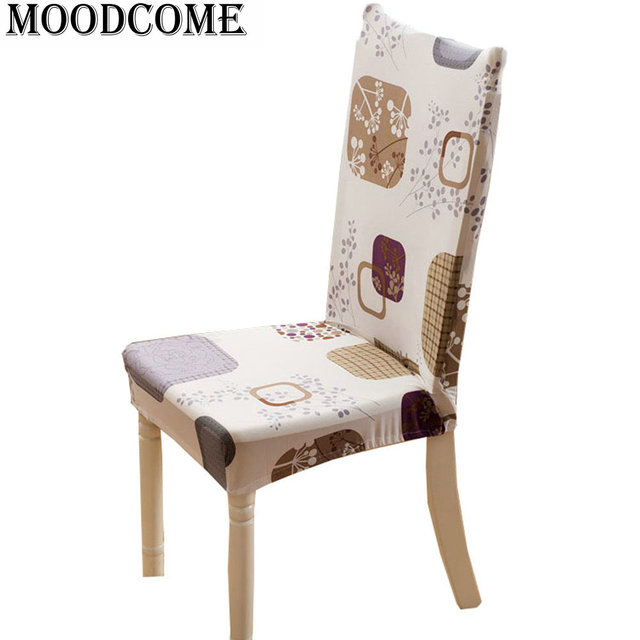 Couvre chaise assise stof stoel cover stoelhoes eetkamer stoel cover ...
