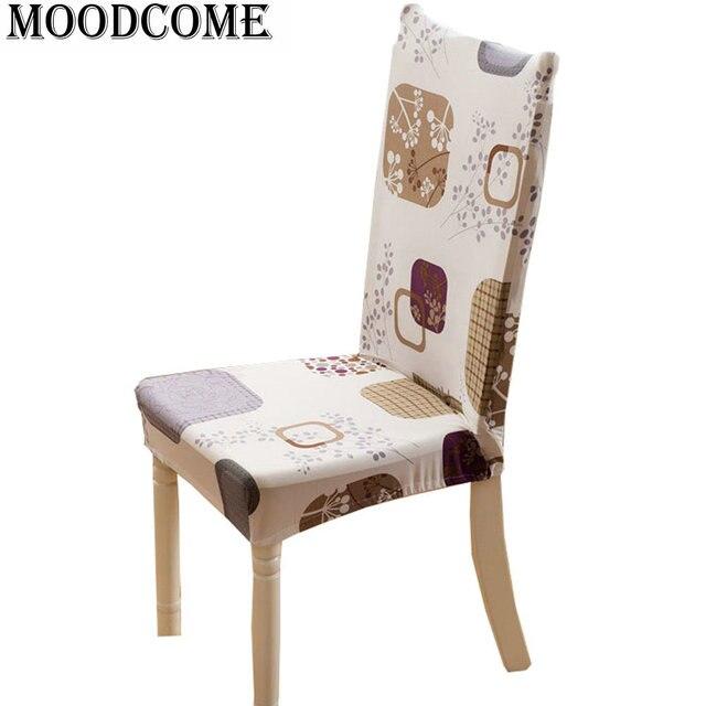 Couvre Lit Chaise Assise Tissu Couverture Stoelhoes Eetkamer De Spandex