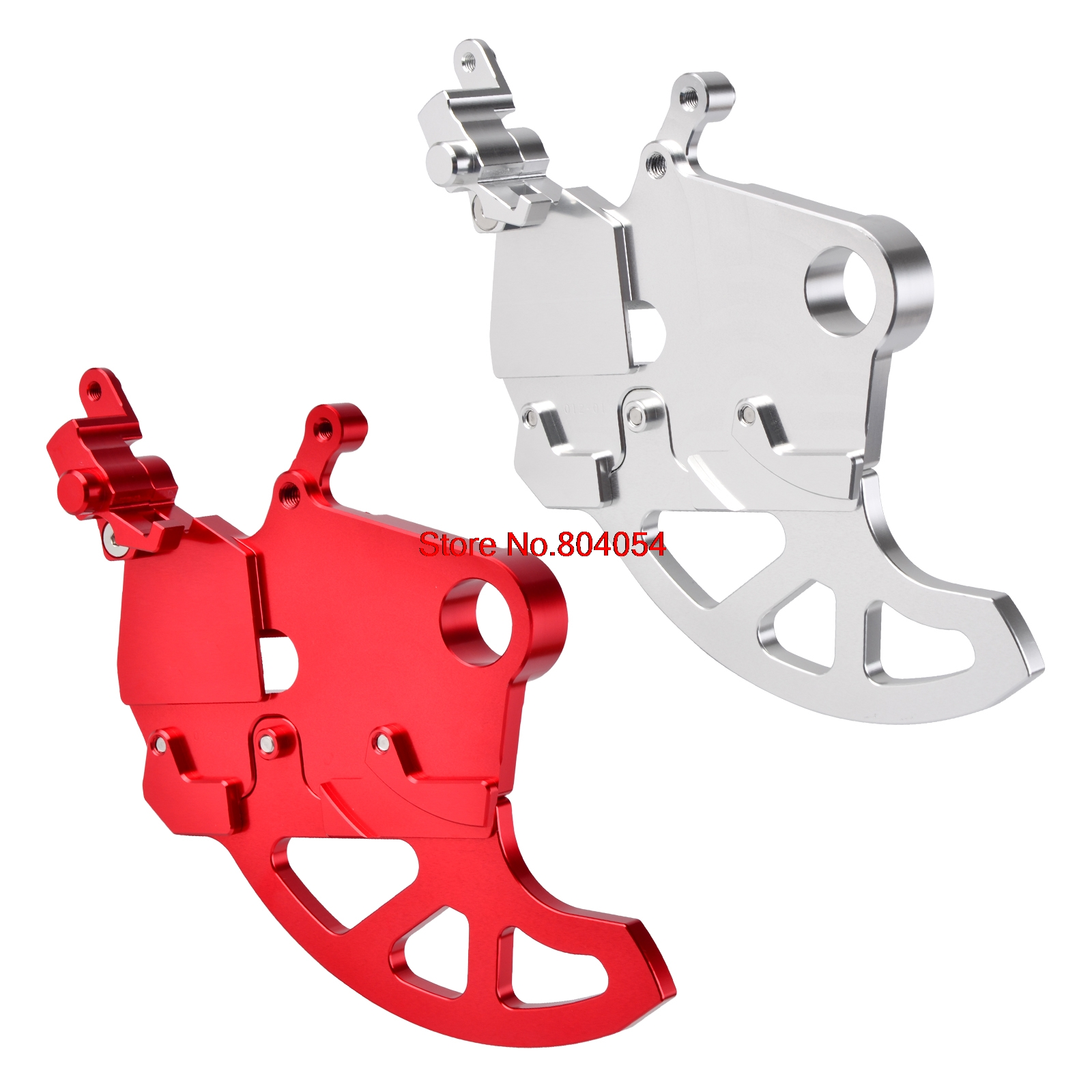 Motorcycle Rear Brake Disc Guard Protector For Honda CR125R CR250R CRF250R CRF250X CRF450R CRF450X CRF 250R 250X 450R 450X new arrival motorcycle cnc pivot brake clutch levers for honda crf 250 450 r crf250x crf 450r 450x xr230 motard off road
