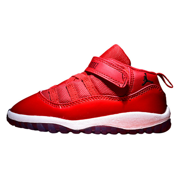 Small Kids 11 Shoes Little Children Basketball Shoes Baby Boy Girl AIR US JORDAN Gym Red Space James Sport Blue Shoes