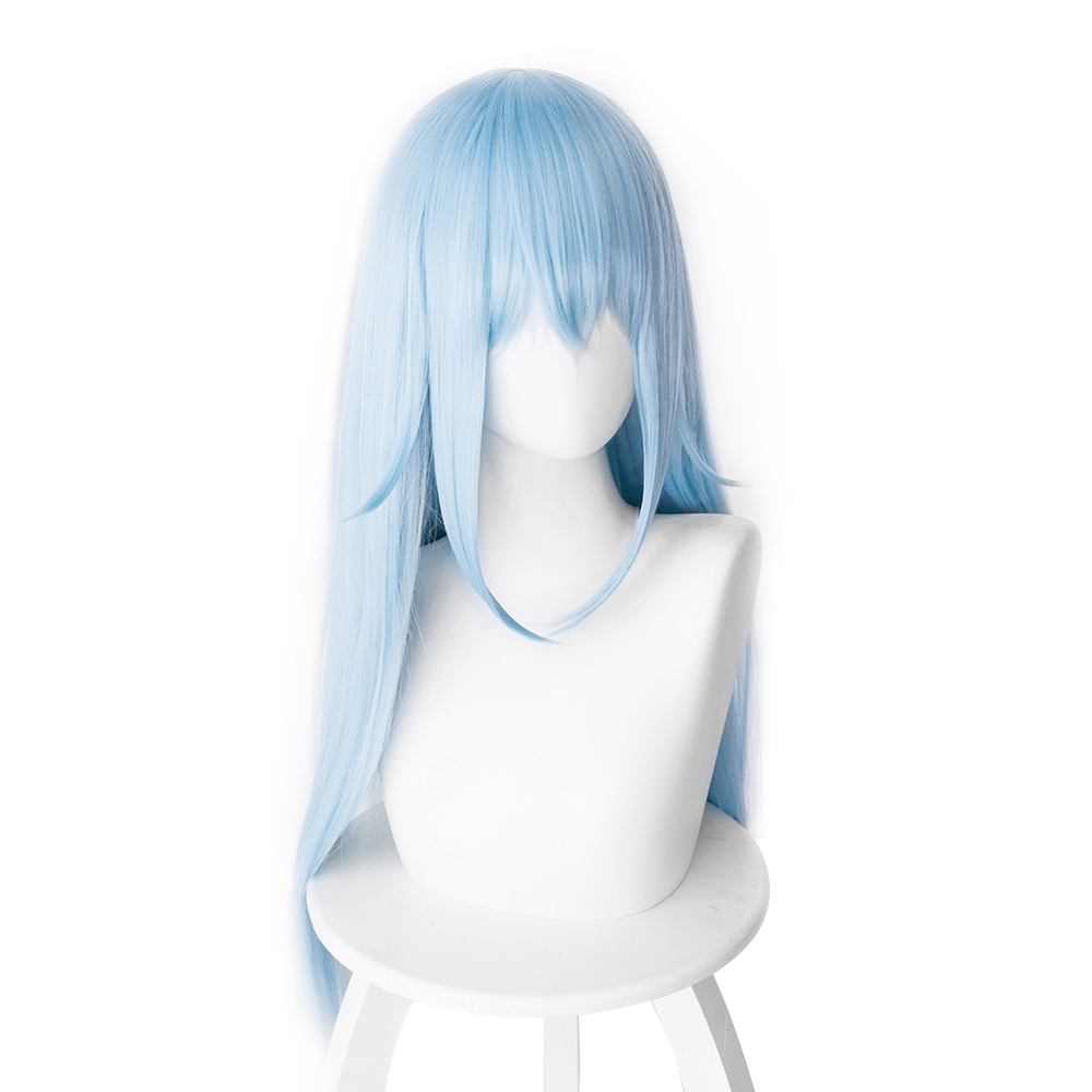 Knowledgeable That Time I Got Reincarnated As A Slime Rimuru Tempest Cosplay Wig Rimuru Hair Blue Halloween Party Wig 40cm/70cm Rich And Magnificent Costume Props