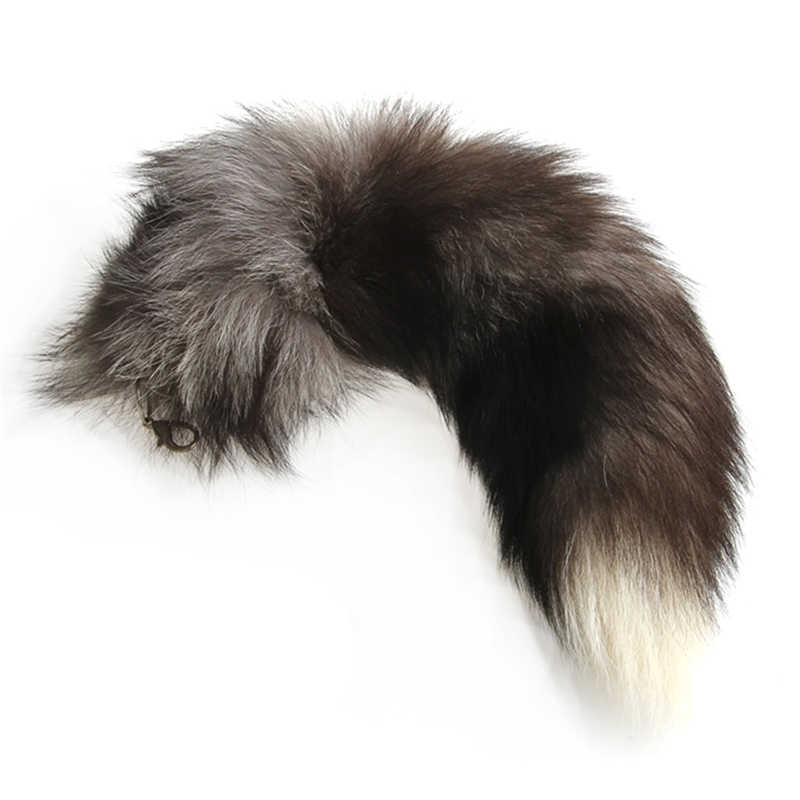 Trinket chaveiro Pompons Grande Fox Fur Cauda Keychain Tassel Bag Tag Charme Bolsa Pingente Acessórios para Carros Chaveiros