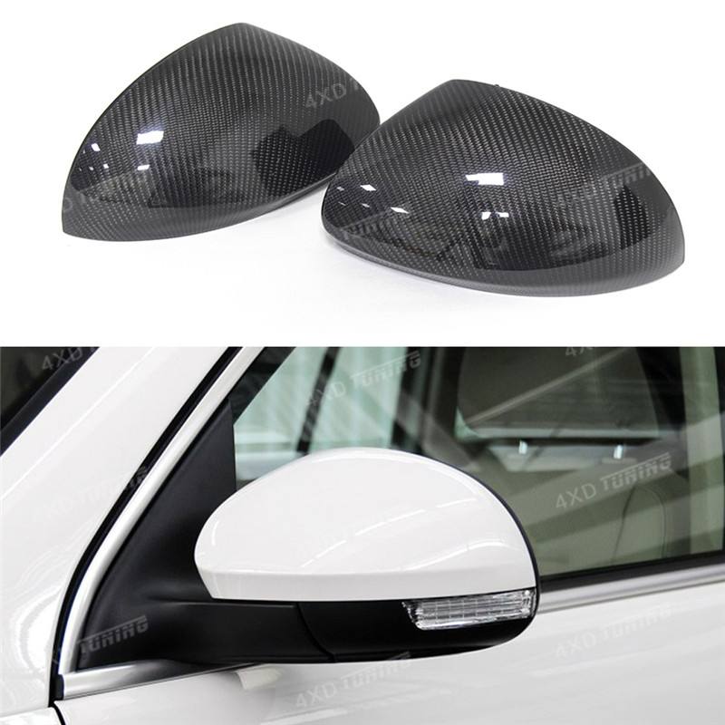 1:1 Replacement For Volkswagen VW Tiguan/Sharan Mirror Carbon Fiber Rear View Mirror Cover 2008 2009 2010 2012 2013 2014 2015 stainless steel front bonnet machine cover molding trim 1pcs fit for vw volkswagen tiguan 2010 2011 2012 2013 2014 2015 2016