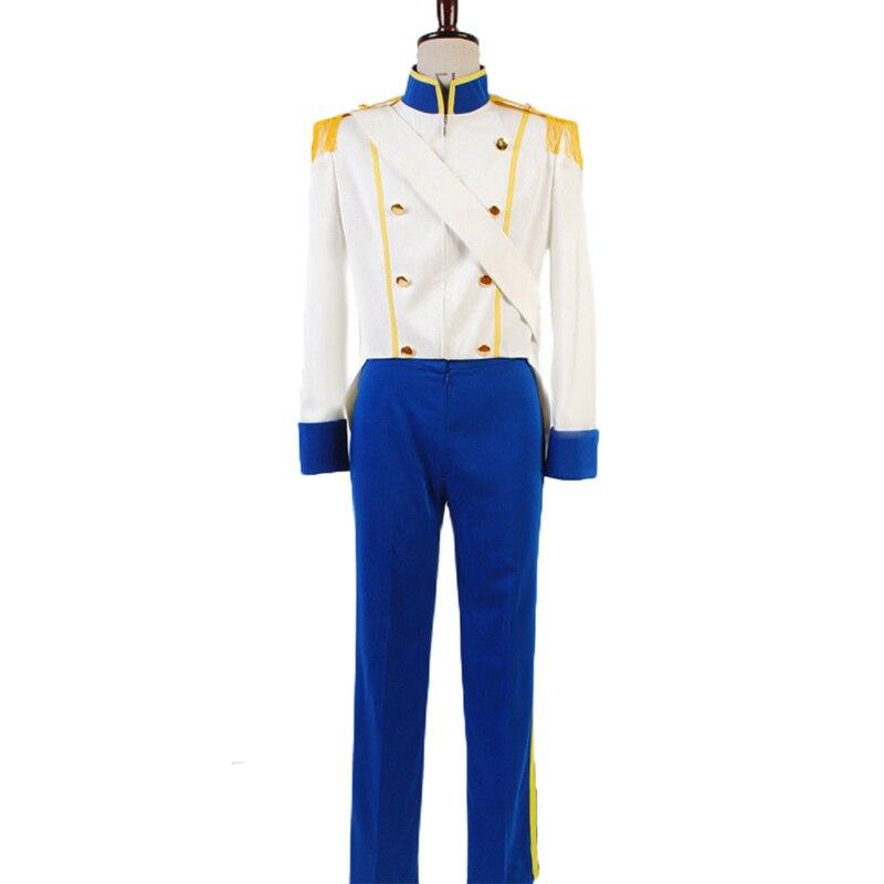 La petite sirène Prince Eric Cosplay Costume