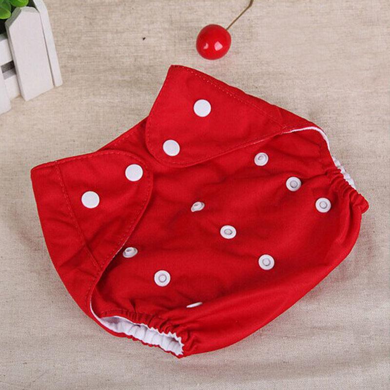 1Pcs Adjustable Reusable Lot Baby Kids Boy Girls Washable Cloth Diaper Nappies