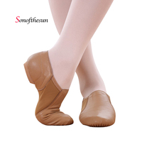 Unisex Dance Shoes Genuine Leather Jazz Ballet Latin Dance Shoes Women Modern Dance Soft Bottom Shoes Size 35 45