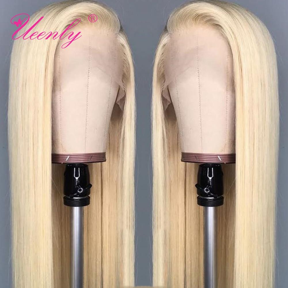 Парик блонд 13x 4/13x6 из человеческих волос на сетке спереди, плотность 150%, бразильский прямой парик на сетке спереди 613, парик на сетке спереди, предварительно выщипанный|Парик из натуральных волос на кружеве|   | АлиЭкспресс