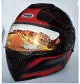 2016 New SHOEI Flip Up Motorcycle Full Face Helmet Double Lens Motocicleta Casco Capacetes DOT Approved bak