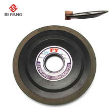 цена на 6 150mm Tapered  Diamond Grinding Wheel to Grind Carbide Hard Steel Alloy saw blade abrasive disc abrasion wheel 200 Grit 100%