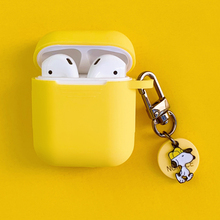 New Cute Dog Decoration Silicone Case for Apple Airpods Accessories Bluetooth Earphone Cartoon Headphone Box Cover Key Ring