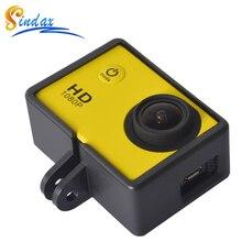 מקרה עבור SJ6000 פעולה מצלמה אביזרי סטנדרטי מגן מסגרת הר דיור מקרה גבול עבור HD SJ4000/SJ6000/SJCAM wifi