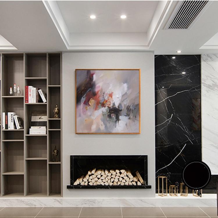 Yağlı rəsm kətan Orijinal əl ilə boyanan müasir divar - Ev dekoru - Fotoqrafiya 3
