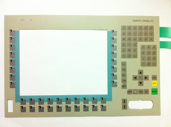 New Membrane keyboard 6AV7612-0AB32-0BF0  KEYPAD SIMATIC PANEL PC 670 12  , Membrane switch , simatic HMI keypad , IN STOCK 6av3607 5ca00 0ad0 for simatic hmi op7 keypad 6av3607 5ca00 0ad0 membrane switch simatic hmi keypad in stock