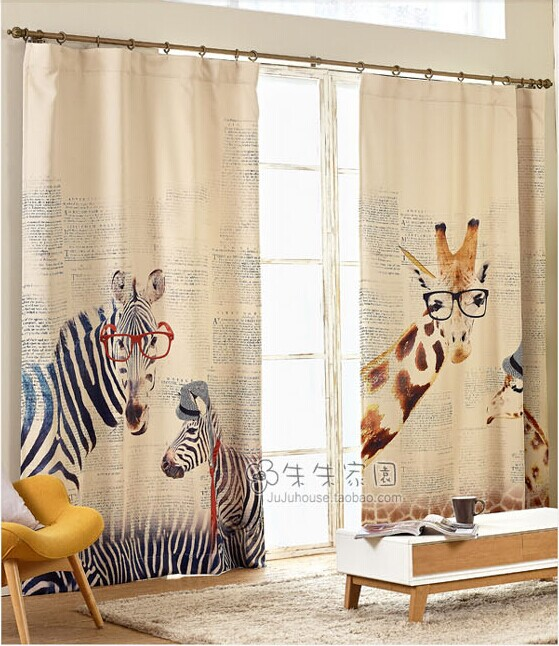 Blackout Curtains blackout curtains australia : Online Buy Wholesale zebra print curtains from China zebra print ...