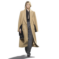 100% wool coat camel color women long maxi coat winter Wool Blends coat 2018 new luxury brand warm thick outfit high quality 045