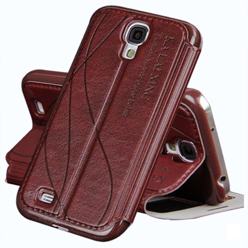 Original de cuero case para samsung galaxy s4 s 4 i9500/s4 mini i9190 case cubie