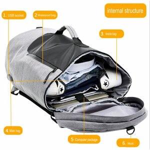 Image 4 - Спортивная сумка для мужчин 36L, дорожная сумка для багажа, женская дизайнерская сумка для фитнеса Molle, многофункциональная сумка на плечо для занятий спортом, рюкзак для улицы