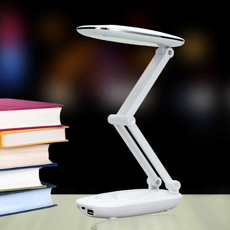 Gehemmt Verlegen Tragbare Verstellbare Schreibtisch Lampen Wiederaufladbare Led Tischleuchte Mit Multifunktionale Usb-ladeleitung Faltbare Led Schreibtischlampe Befangen Unsicher Selbstbewusst