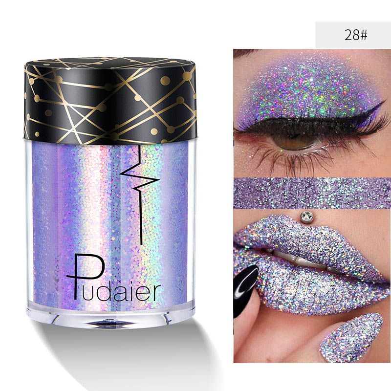 Shimmer Body Glitter Powder Face Mermaid Pigment Festival Makeup Tattoo Tints Diamond Eyeshadow Sequin Glow Hair Nail Cosmetics Home