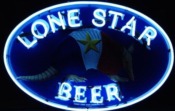 Custom Lone Star Beer Bar Glass Neon Light Sign  Beer Bar 1