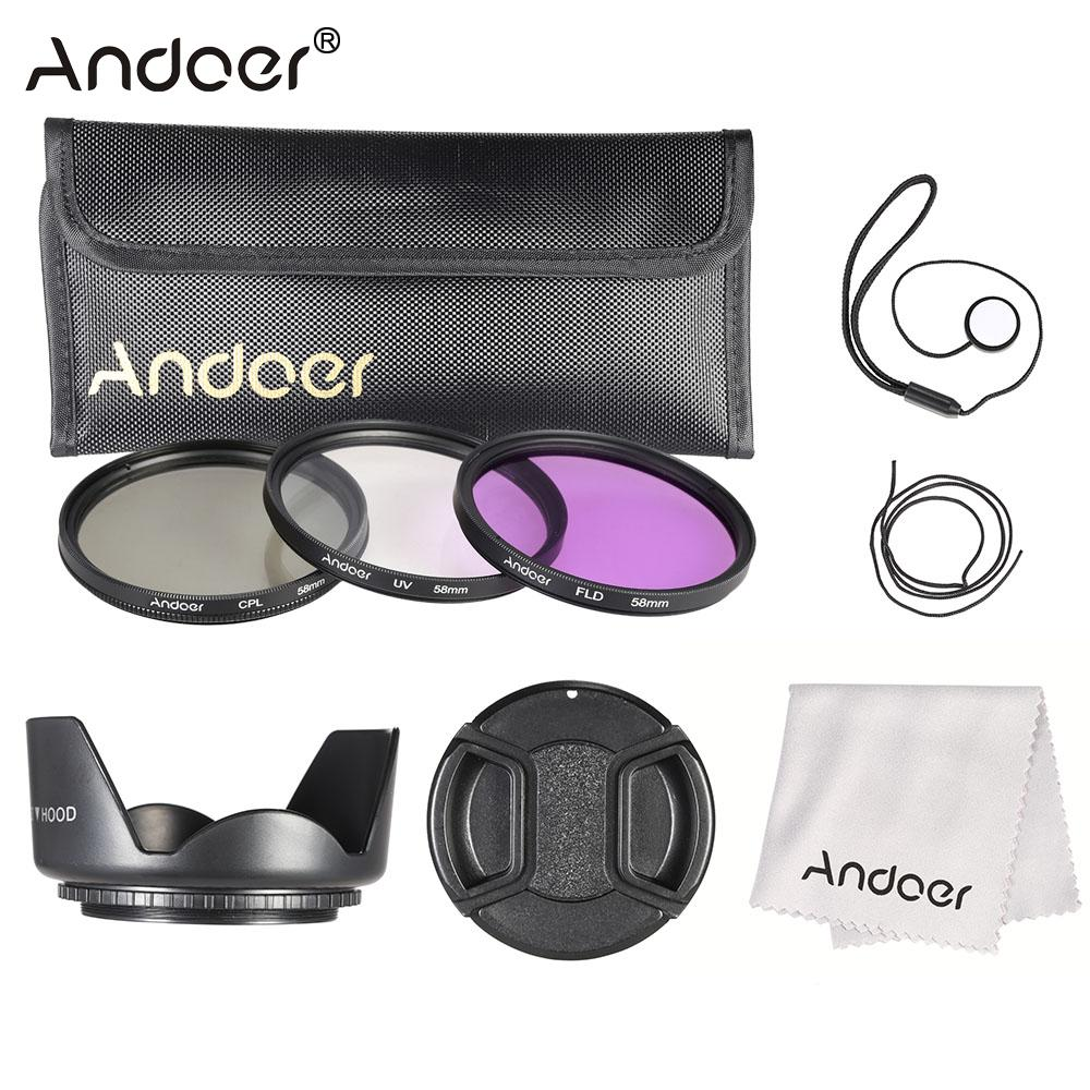 buy andoer 58mm filter kit uv cpl fld. Black Bedroom Furniture Sets. Home Design Ideas
