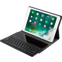 Kemile Ultra Slim Glass Uniquely Design Bluetooth 3 0 Keyboard Case For New IPad 2018 9