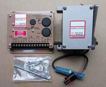 actuator ADC120-24V ADC120-12V Diesel generator Governor Kit  1PCS  ADC120 ( 12V OR 24V ) + 1PCS ESD5500E + 1PCS 3034572 - DISCOUNT ITEM  0% OFF All Category