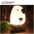 LEDIARY New Arrival Dog Desk Lamp E14 Replaceable Light Source Night Light Baby Bedside Lamp Warm White/Cold White 110-240V