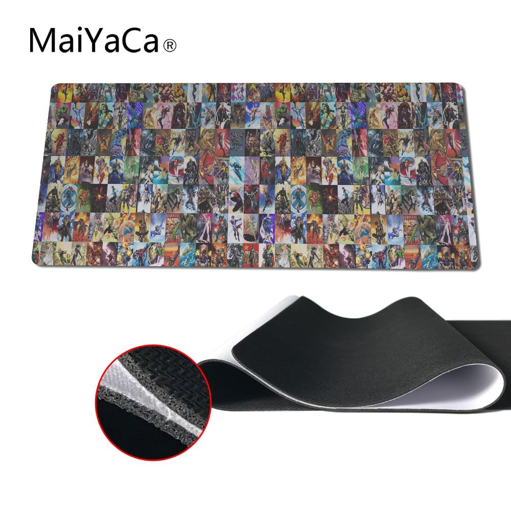 MaiYaCa Superhero Mouse Pad pad to Mouse Notbook Computer Mousepad Overlock Edge Big Gaming Padmouse Gamer to Laptop Mouse