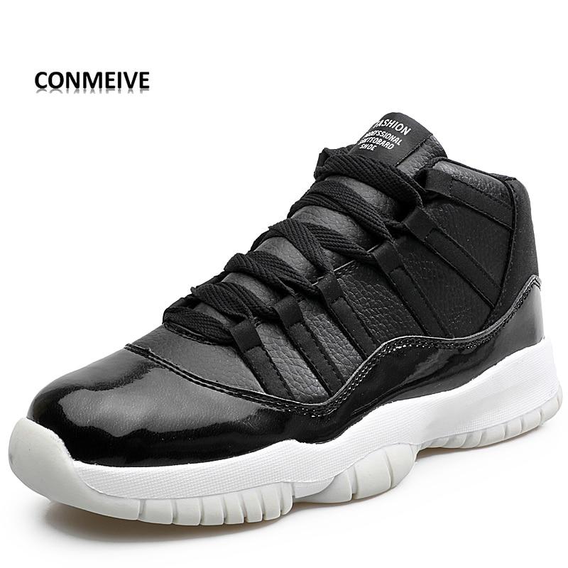 la meilleure attitude 51fee 8b5b3 US $32.0 |2018 Comfortable Men Shoes Outdoor Flat Air Sport Femme Basket  Shoes Men Basketball Shoes Jordan Retro Trainers Zapato-in Basketball Shoes  ...