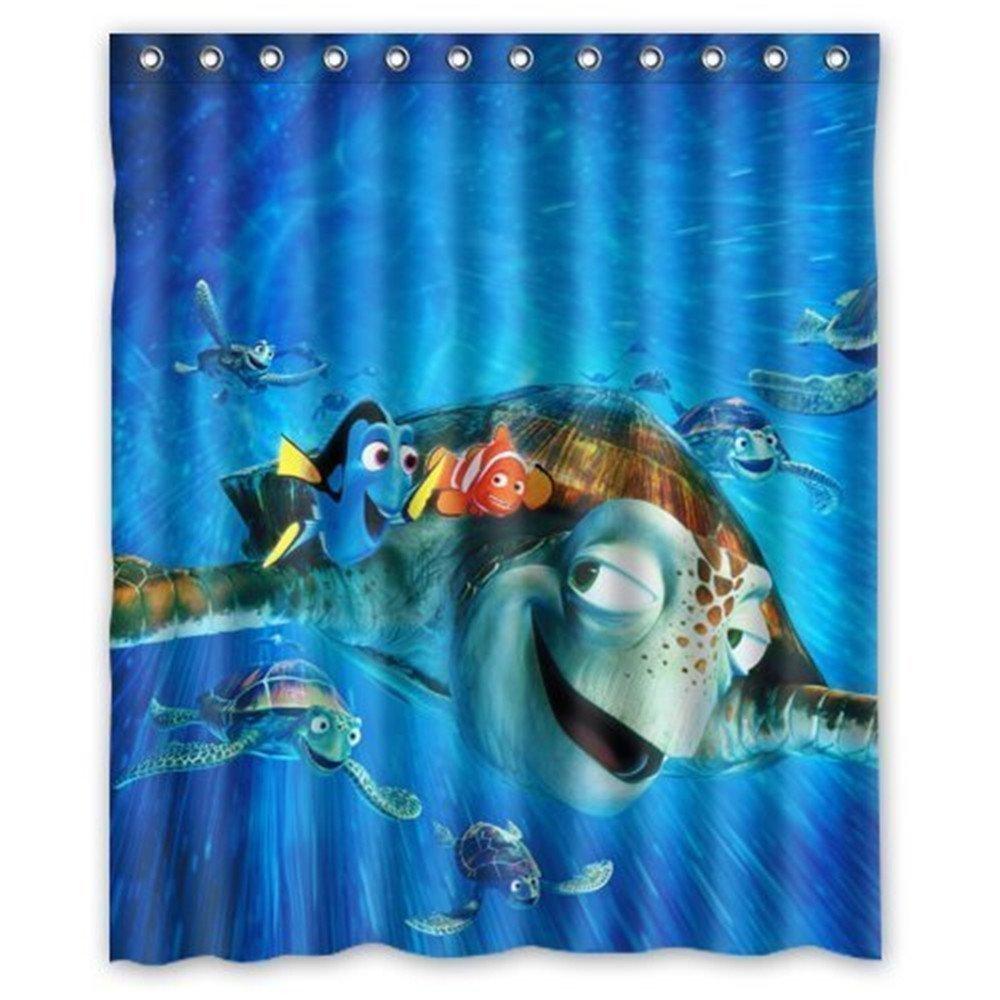 Disney Finding Nemo Shower Curtain - Finding nemo bathroom accessories amazing home design simple