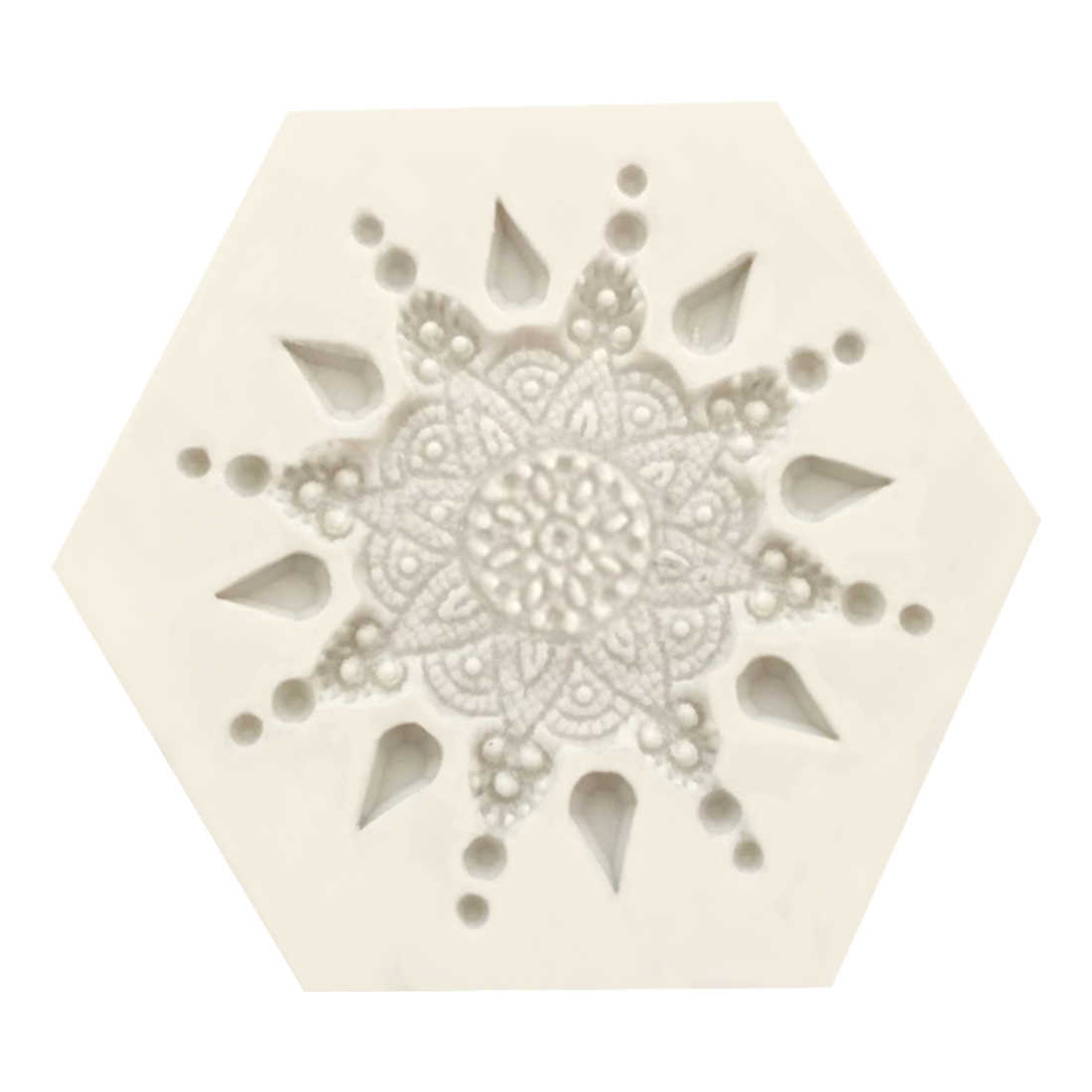 Горячая продажа украшения торта силиконовая формочка в виде цветов перо солнечной системы помадки формы печенья шоколадные глиняные формы для конфет