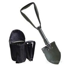 Army Military Portable Folding Spade Shovel Pick Axe