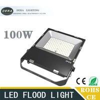 LED FloodLight 100W Reflector Led Flood Light Spotlight AC110 277V Waterproof IP65 Outdoor Wall Lamp