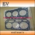 For Komatsu Excavator 3D84 3D84-1 3D84-2 3D84-3 3TNE84 cylinder head gasket