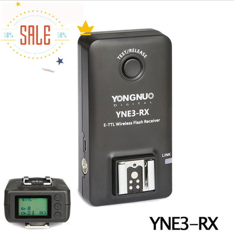 Ulanzi Yongnuo YN-E3-RX E-TTL Wireless Flash Receiver for YONGNUO YN568EX II,YN565EX II,YNE3-RX for Canon 580EX II 600EX-RT yongnuo yne3 rx