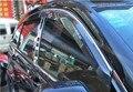 Moldagem Janela Visor chuva sun guard shield protector com acabamento cromado para Peugeot 3008 Car Styling acessórios!