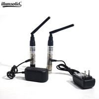 Dmx512 dmx dfi disco dj sem fio sistema receptor ou transmissor 2.4g para led luz de palco led luz 400m controle Efeito de Iluminação de palco     -