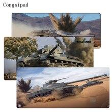 Congsipad 900*400 мм большой игровой Скорость Мышь Pad белый замок края Водонепроницаемый Мышь коврик для CS go DOTA world Of Tanks Мышь pad