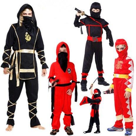 Halloween Adult Black Ninja Samurai Cosplay Costume Stage Performance Masquerade Party Ninja Costumes For Kids Japanese anime  sc 1 st  Aliexpress & Online Shop Halloween Adult Black Ninja Samurai Cosplay Costume ...